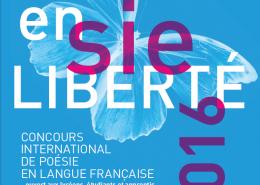 Remise des prix Poésie en Liberté 2016