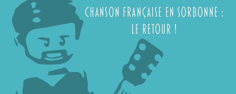 Chanson française en Sorbonne
