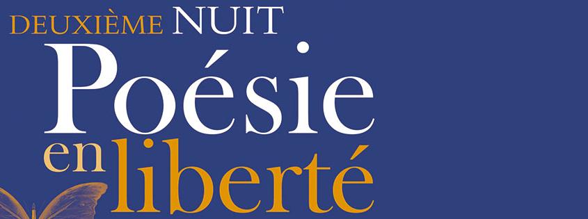 2ème Nuit de Poésie en liberté (Festival Quartier du livre) en Mairie du 5ème arrondissement