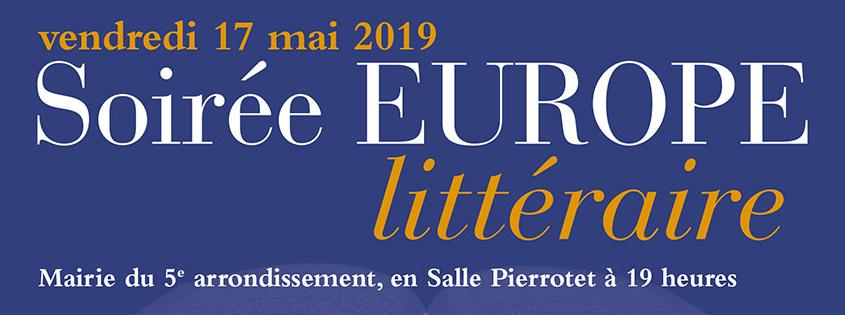 soirée Europe littéraire (Festival Quartier du livre), Mairie du 5ème arrondissement